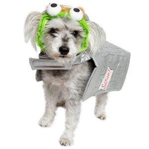 SESAME STREET OSCAR THE GROUCH DOG pet cat costume